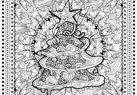 Christmas Coloring Pages For 4th Grade With Crafts Lovely Tree