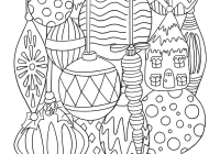 Christmas Coloring Pages For High School With Free Worksheets Middle Printable