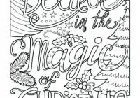 christmas coloring pages for older kids – danquahinstitute