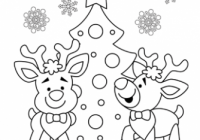 Christmas Coloring Pages, Free Christmas Coloring Pages for Kids – Free Christmas Coloring Pages