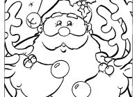 Christmas Coloring Pages Free To Print With Printable Worksheets For All