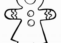 Christmas Coloring Pages Gingerbread Man With Girl Pinterest
