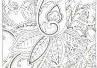 Christmas Coloring Pages Hard With Tree Page Printable