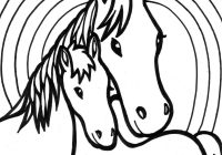 Christmas Coloring Pages Horse With For Girls Horses 2075022