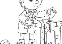 Christmas Coloring Pages Kindergarten With Free Printable For Kids