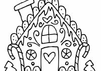 Christmas Coloring Pages Middle School With Bread Printable For
