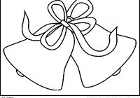 Christmas Coloring Pages Mistletoe With For Kids Bells Pinterest