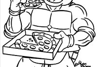 Christmas Coloring Pages Ninja Turtles With 28 Collection Of Turtle Printable High