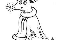 Christmas Coloring Pages Of Rudolph The Red Nosed Reindeer With Hellokids Com