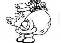 Christmas Coloring Pages Of Santa With My Land
