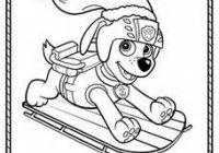 Christmas Coloring Pages Paw Patrol With 91 Best Images On Pinterest