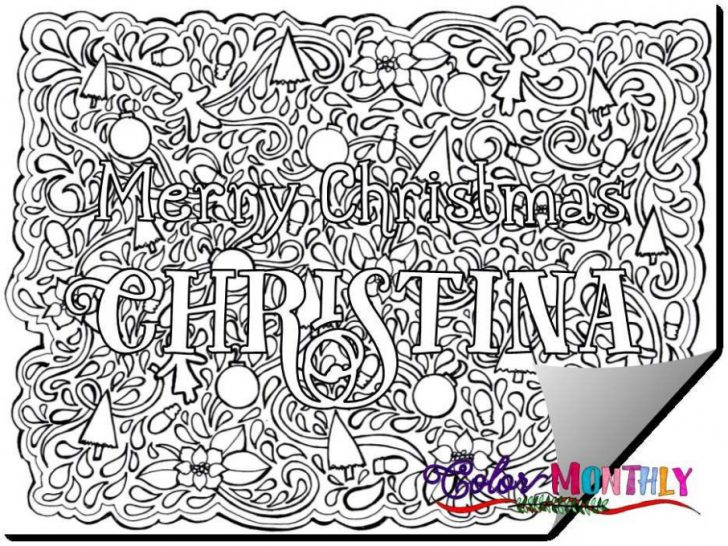 Permalink to Christmas Coloring Printables Pdf