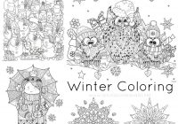 Christmas Coloring Pages Set With Just Color Free Printables