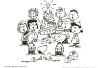 Christmas Coloring Pages Snoopy With MIM5