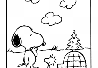 Christmas Coloring Pages Snoopy With Pin By The Peanuts Gang On Winter Pinterest