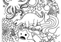 Christmas Coloring Pages With Numbers By Number Page