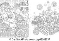 Christmas coloring pages with santa claus. Christmas colouring pages ..