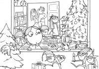 Christmas Coloring Printables Pdf With Lovers