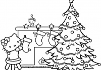 Christmas Coloring Printables Pdf With Tree Book Pages Refrence 27
