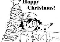Christmas Coloring Printouts With Pages POKEMON CHRISTMAS COLORING PICTURES FREE