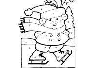 Christmas Coloring Sheets For Second Grade With Free Printable Math Pages Collection Of