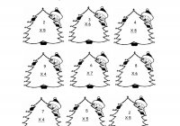 Christmas Coloring Sheets For Second Grade With Free Printable Math Worksheets 2nd Valid