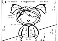 Christmas Coloring Sheets For Second Grade With Successful Addition Pages 2nd Fall