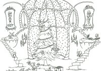 Christmas Coloring Templates Free With Pages Printable