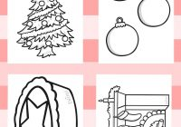 Christmas Coloring Twinkl With Resources Colouring Sheets Printable
