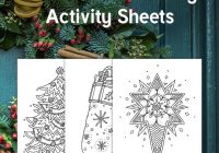 Christmas Coloring Twinkl With This Fun Set Of Sheets Is Perfect For A Relaxing