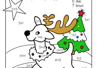 Christmas Coloring Worksheets For 1st Graders With Free Printable Math Pre K Grade 2nd