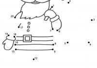 Christmas Colouring Pages Dot To With Elegant Easy Worksheets Collections