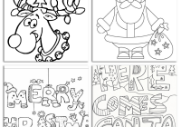 Christmas Colouring Pages Download Free With And Print FREE