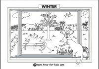 Christmas Colouring Pages Eyfs With Seasons