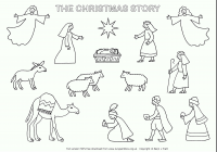 Christmas Colouring Pages For Babies With Free Printable Coloring Jesus Save