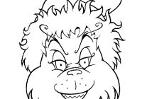 Christmas Colouring Pages Grinch With Coloring Embriodery Pinterest