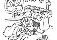 Christmas Colouring Pages Grinch With Free Printable Coloring For Kids