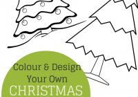 Christmas Colouring Pages Ks1 With Colour And Design Your Own Tree Printables In The Playroom