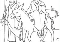 Christmas Colouring Pages Mary And Joseph With Advent Coloring Page Of On The Journey