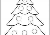 Christmas Colouring Pages Tree With Coloring For Kids Beautiful