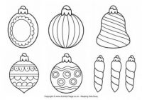 Christmas Decorations Colouring Pages – Christmas Coloring Pages Decorations
