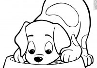 Christmas Dog Coloring Page With Pages Bing Images Patterns Pinterest