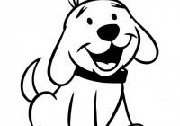 Christmas Dog Coloring Page With Pages For Kids Preschool And Kindergarten