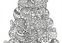 Christmas Doodle Coloring Pages With 5 Absolutely Free Beautiful Colouring Wood Burning