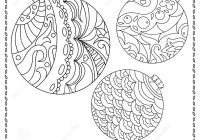 Christmas Doodle Coloring Pages With Adult Or Teen Page New Year