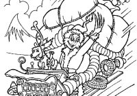 Christmas Grinch Coloring Pages With GRINCH STOLE CHRISTMAS