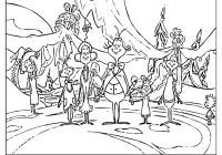 Christmas Grinch Coloring Pages With How The Stole Page Cool On Web