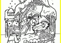 Christmas Jesus Coloring Pages With Best Leversetdujour Info Pics For New