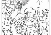 Christmas Jesus Coloring Pages With Free Printable Baby