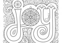 Christmas Joy Coloring Page by Thaneeya McArdle | Coloring Pages ..